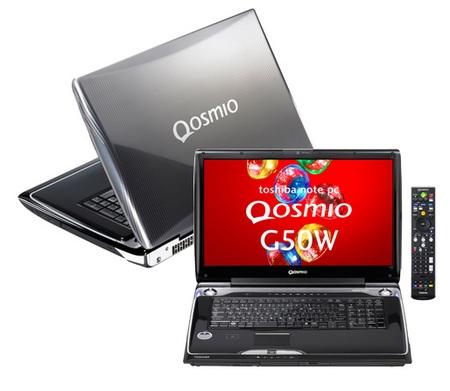 Toshiba Qosmio G50W-95JW Notebook with SpursEngine
