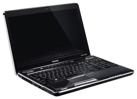 Toshiba Satellite L500 and L550 Notebooks