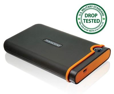 Transcend StoreJet 18M Shockproof Portable HDD