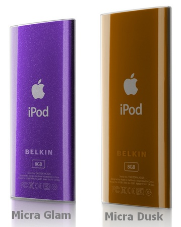 Belkin Micra Glam and Dusk iPod nano 4G case