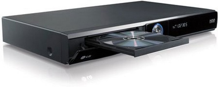 LG HR400 Blu-ray Player/HDD Recorder