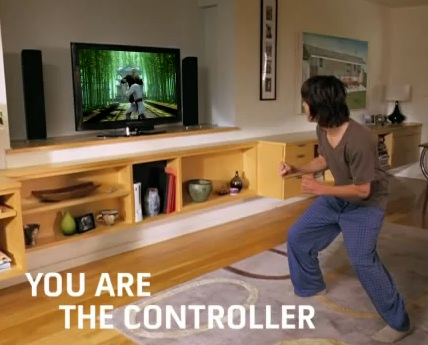 Microsoft Project Natal Motion Control for Xbox 360