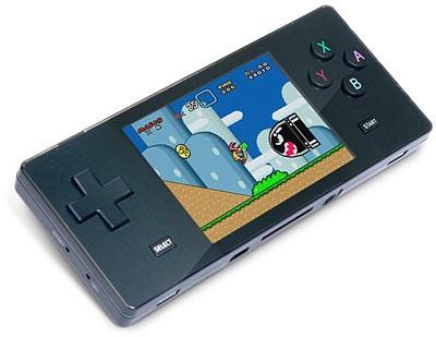Pocket Retro Game Emulator looks like the GameBoy Micro