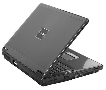 Sager NP9280 Core i7 Notebook close