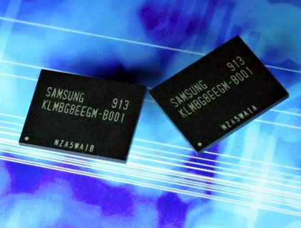 Samsung 32GB moviNAND utilizes 30nm-class NAND Technology