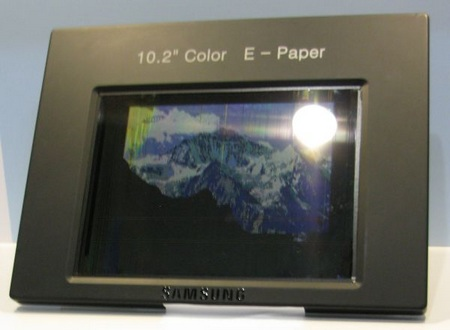 Samsung Color E-Paper Display is Video-capable