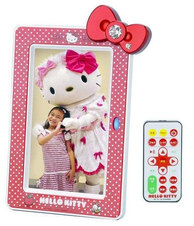 Sanrio Hello Kitty Digital Photo Frame Red