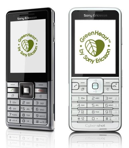 Sony Ericsson C901 GreenHeart and Naite Eco Phones