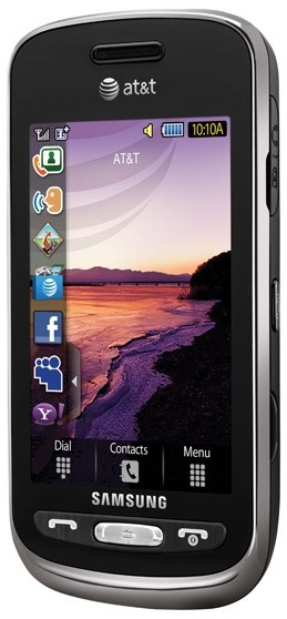 AT&T Samsung Solstice Touchscreen Phone