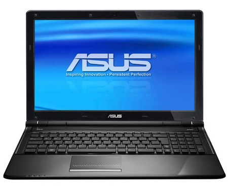 Asus U50VG-XX060 notebook front