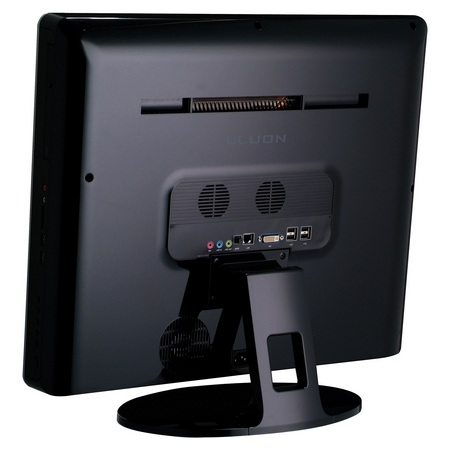Averatec D1005 22-inch All-in-One PC back