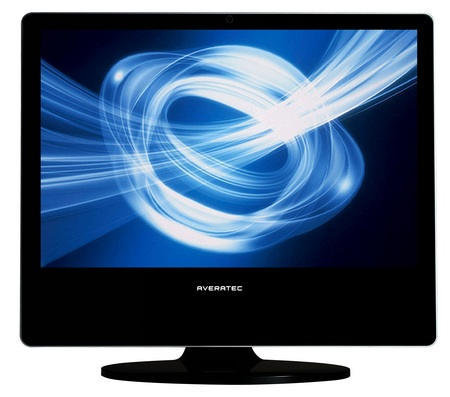 Averatec D1005 22-inch All-in-One PC front