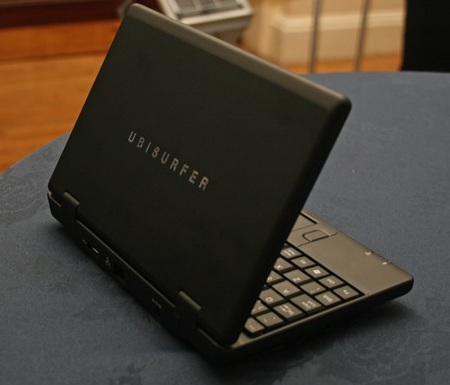 DataWind UbiSurfer Netbook with GPRS angle