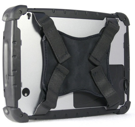 Duros 8404 Rugged Tablet PC with Atom back