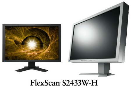 EIZO FlexScan S2433W-H Full HD LCD Monitor
