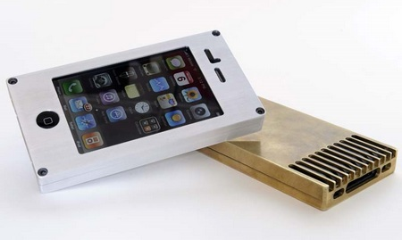 EXOvault Solid Metal Case for iPhone