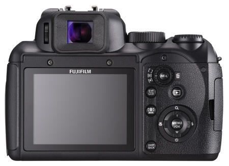 FujiFilm FinePix S200EXR 14.3X Zoom Camera back