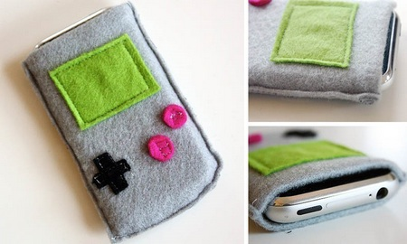 GameBoy iPhone Pouch