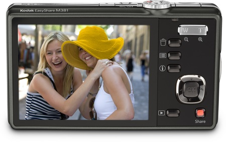 Kodak EasyShare M381 digital camera back