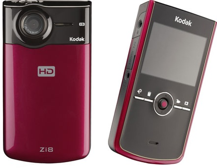 Kodak Zi8 Pocket 1080p HD Camcorder