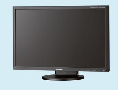 Mitsubishi Diamondcrysta Color RDT221WH LCD covers 97-percent Adobe RGB