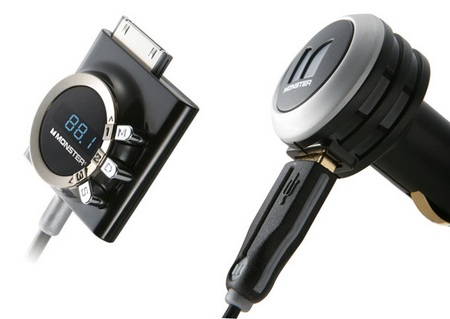 Monster iCarPlay Wireless 1000 FM Transmitter for iPod and iPhone