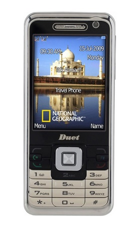National Geographic Duet Talk Abroad Travel Phone