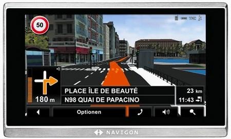 Navigon 8410 GPS Navigator with DVB-T tuner