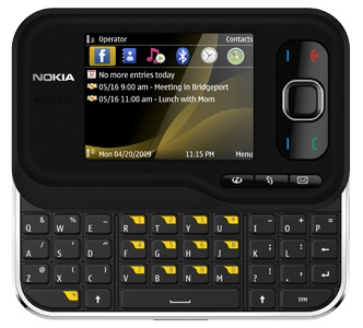 Nokia 6760 Slide QWERTY Slider