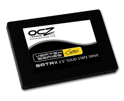 OCZ Vertex Turbo Series SSD with 64MB 180MHz Cache