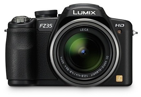 Panasonic Lumix DMC-FZ35 18X Zoom Digital Camera front
