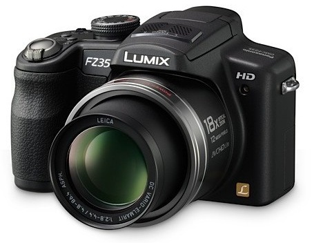 Panasonic Lumix DMC-FZ35 18X Zoom Digital Camera