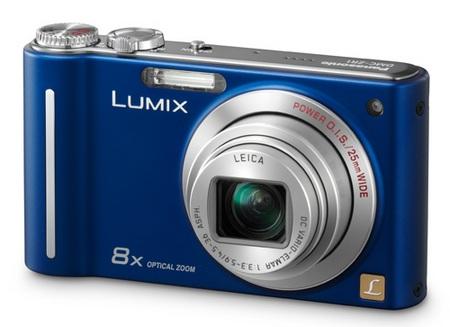 Panasonic Lumix DMC-ZR1 Slim Camera blue