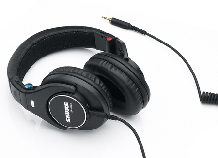 Shure SRH840, SRH440, and SRH240 Professional Headphones