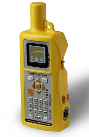 Solara Field Tracker 2100 Handheld Satellite Text Messenger