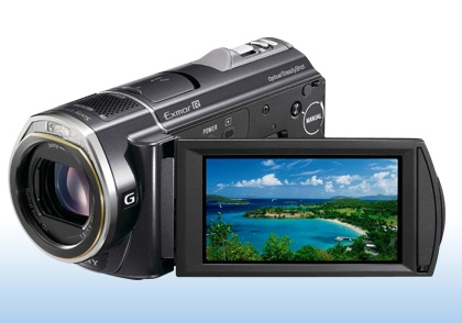 Sony HDR-CX520V and HDR-CX500V Full HD Handycam Camcorders ...