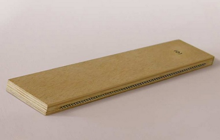 Wooden Electronic Ruler with Display 2