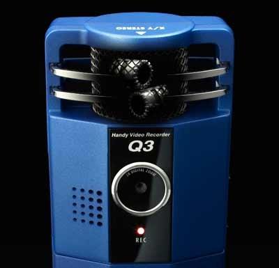 Zoom Q3 Handy Video Recorder mics