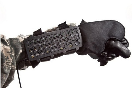 iKey AK-39 Rugged Wearable Keyboard