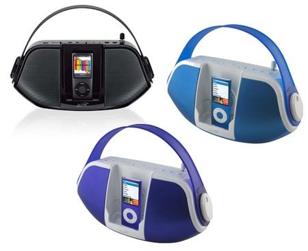iLive IB109 Portable iPod Dock with Radio