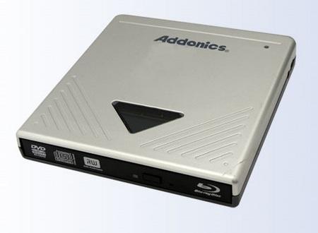 Addonic AEPBRDVRUE Pocket Blu-Ray DVD-RW Combos with eSATA