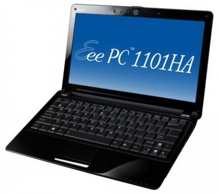 Asus Eee PC 1101HA Netbook Now Available