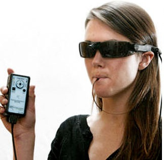 BrainPort Vision Device Lets Blinds See with Tougues