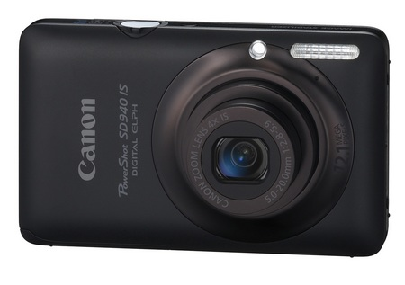 Canon PowerShot SD940 IS Digital ELPH Camera black