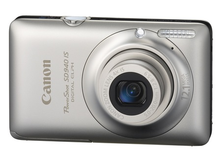 Canon PowerShot SD940 IS Digital ELPH Camera silver