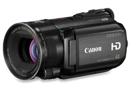 Canon VIXIA HF S11 Full HD Camcorder angle