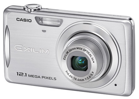 Casio Exilim EX-Z280 zoom Compact Digicam silver