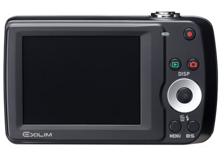 Casio Exilim EX-Z33 Entry-level Camera back