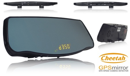 Cheetah GPSMirror Speed Red Light Camera Detector