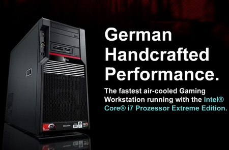 Fujitsu Celsius Ultra - World's Fastest Air-cooled Gaming PC